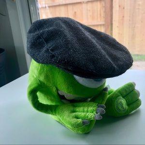 Toddler ivy cap gray houndstooth newsboy cap